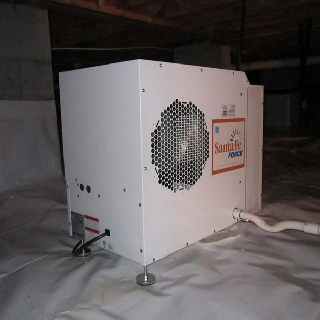 Dehumidifiers | American Crawlspace Solutions
