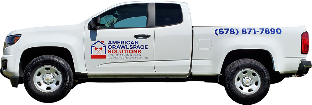 american crawl space solutions truck
