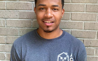 August Employee of the Month Omari Smith